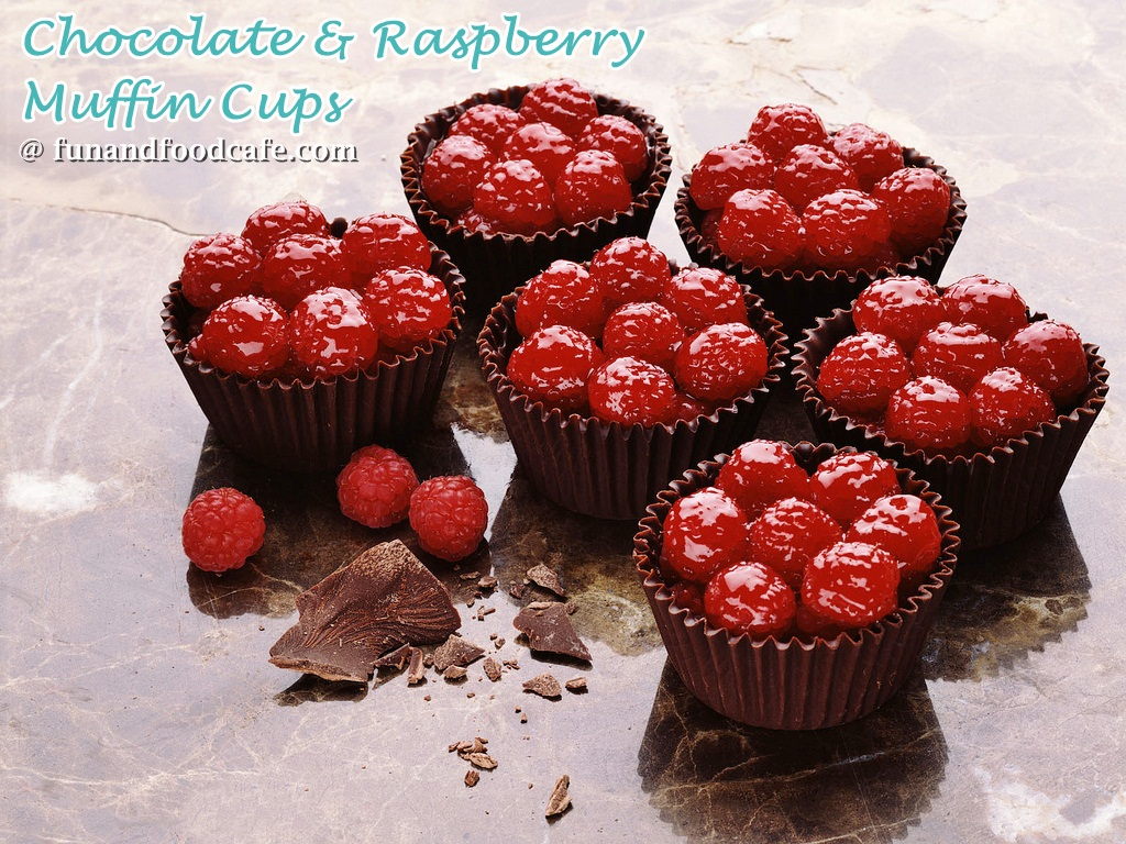 chocolate-raspberry-cups