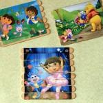 DIY: Posicle Stick Kid's Puzzles