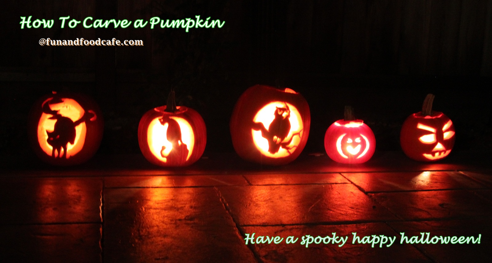 how to carve a pumpkin | fun and food cafe