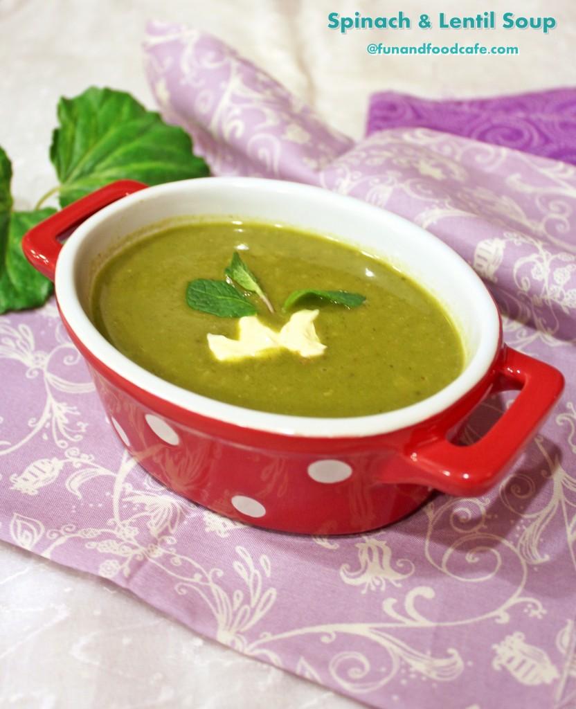 Spinach-Lentil-Soup