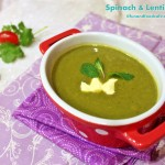 Spinach & Lentil Soup