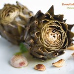 Roasted Artichokes With Herbed Lemon Butter