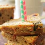 Healthier Carrot & Zucchini Quick Bread