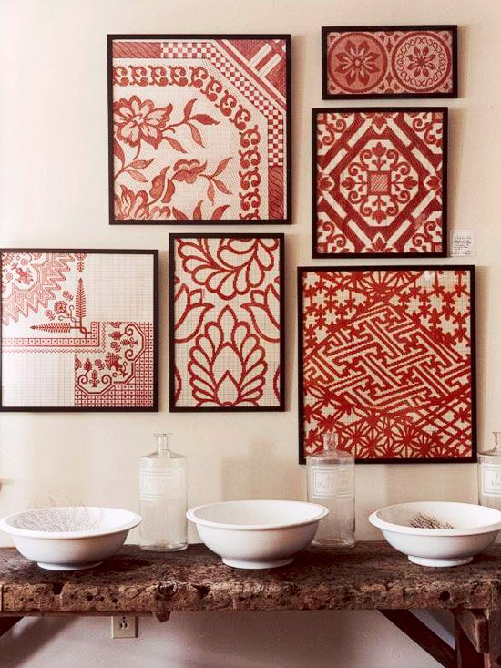 Saree Wall Art