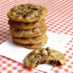 Chewy Chocolate Chip & Walnut Cookies