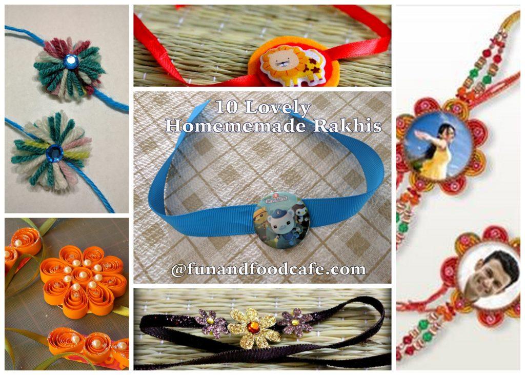 diy 10 ideas to make your own rakhis fun and food cafe