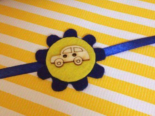 car-rakhi-blue