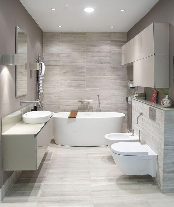 Fresh ideas for a modern bathroom makeover fun and food cafe for Different styles of bathrooms