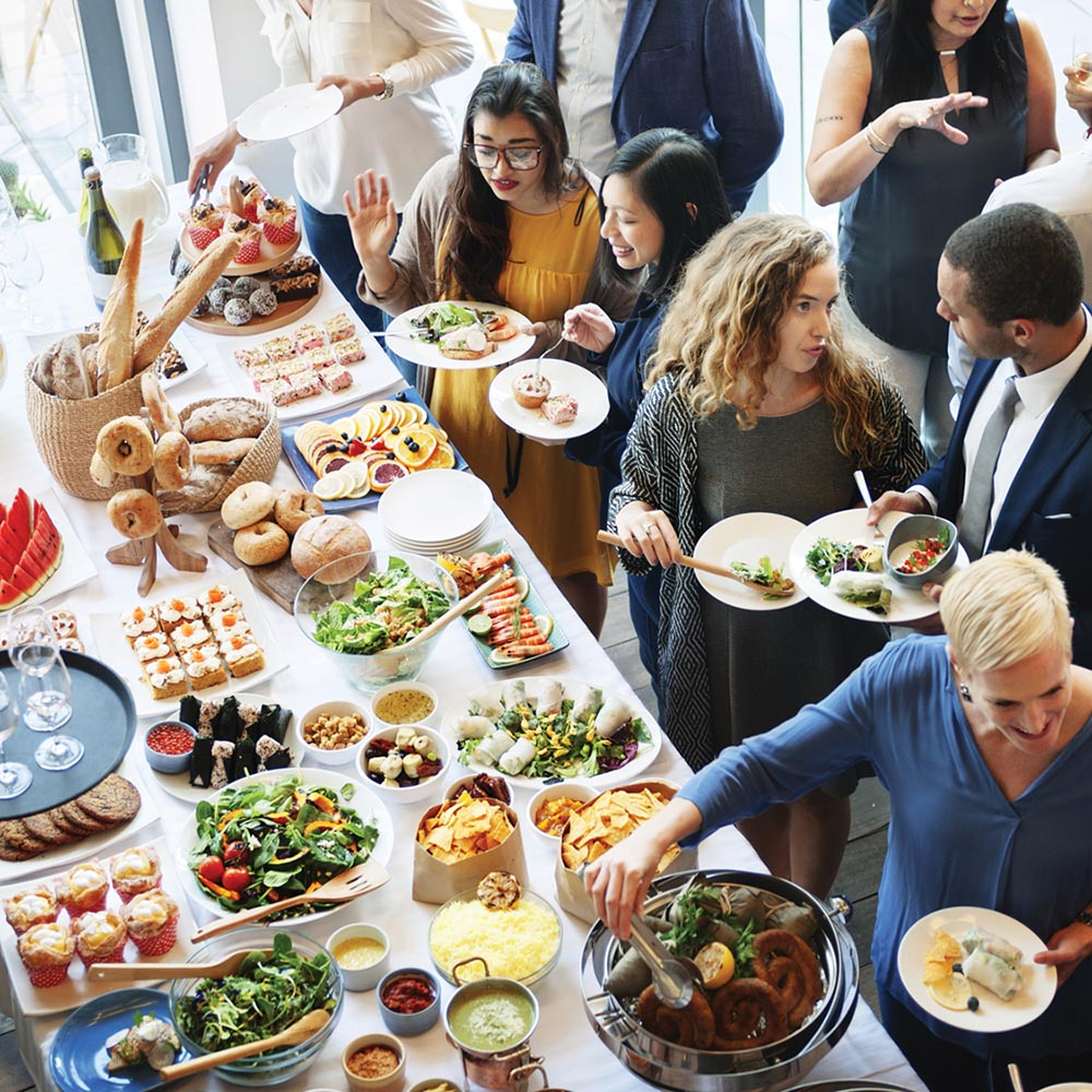 How To Put On The Perfect Corporate Lunch Buffet Fun And